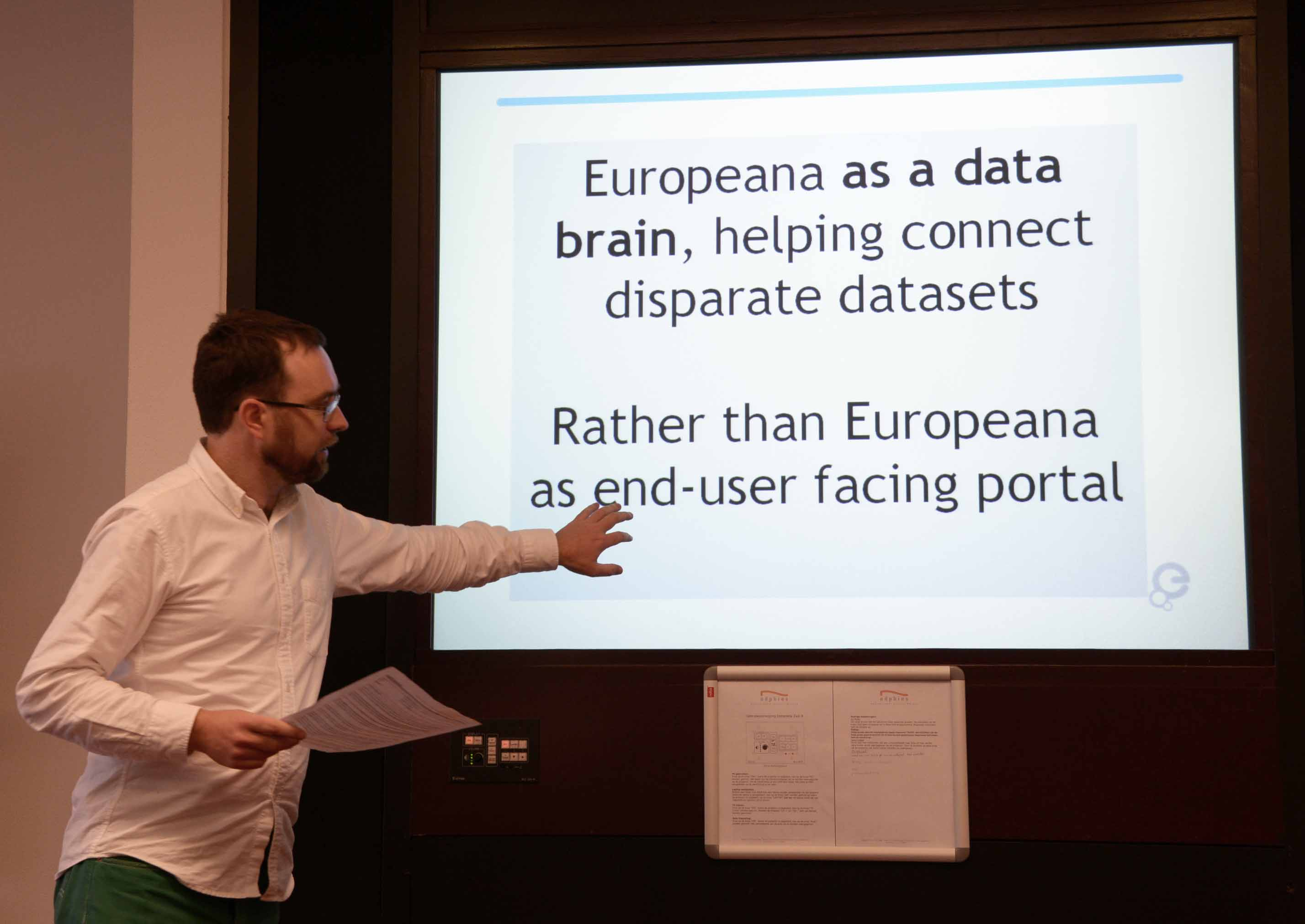 Alistair Dunning: 'Europeana must grow into