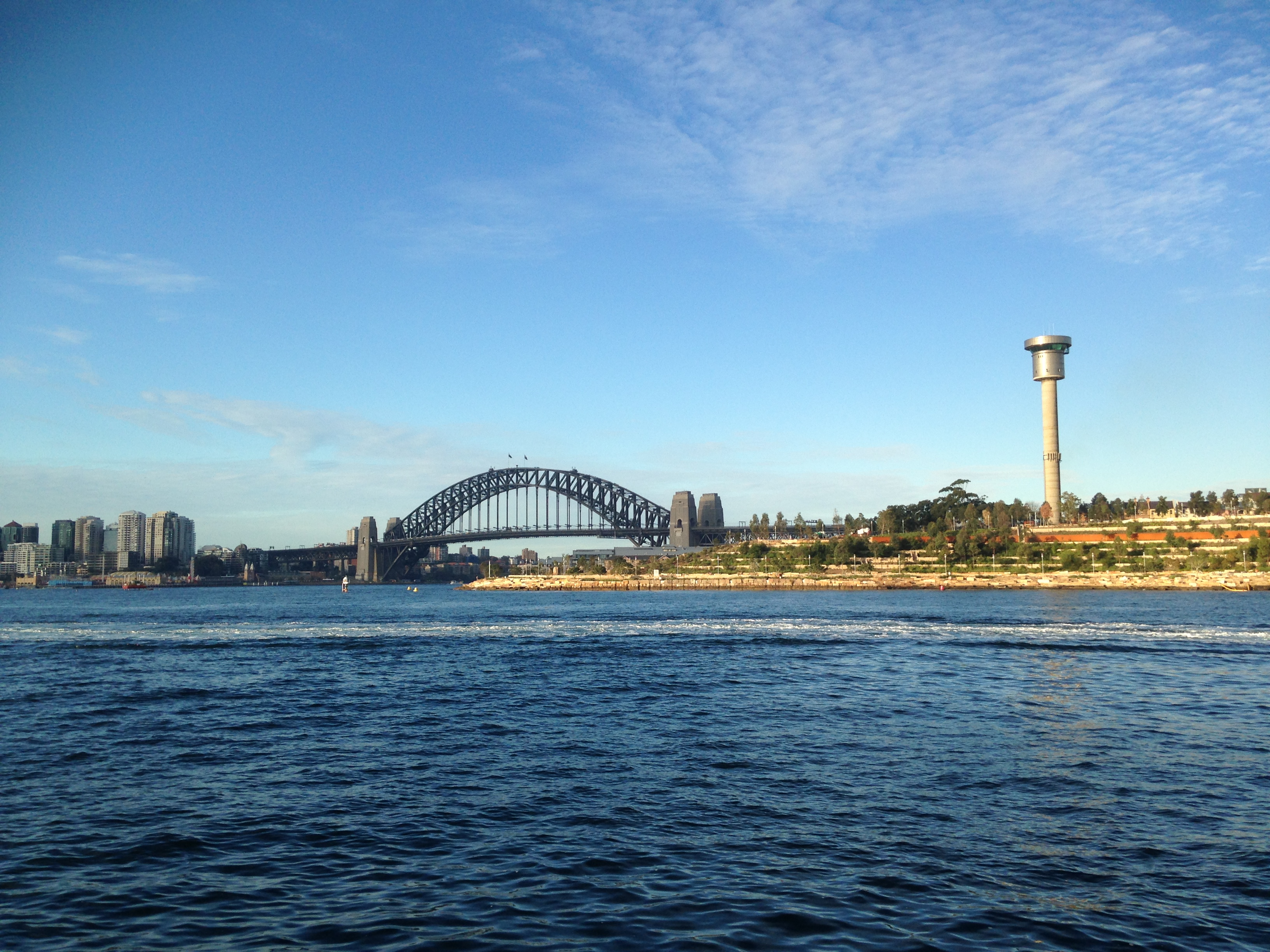 Harbour bridge, taken on our way to the conference opening at the State Library of NSW